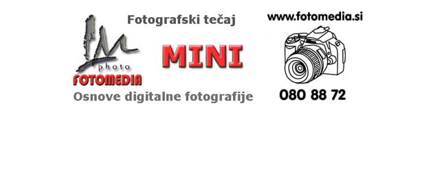 Foto tečaj Osnove digitalne fotografije