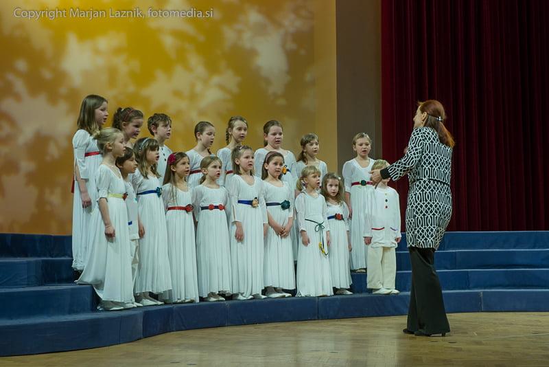 Območna revija otroških pevskih zborov Maribor, Mladina poje 2015 , 4.koncert