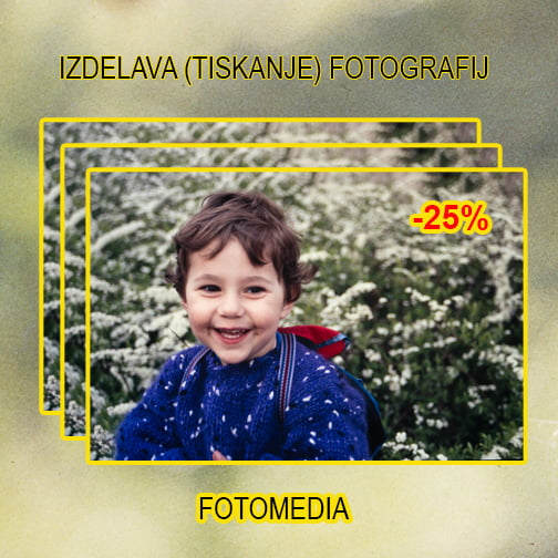 Popust za razvijanje fotografij
